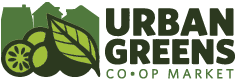 Urban Greens Co-op Market Logo