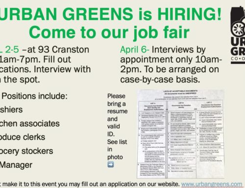 Job Fair April 2-5