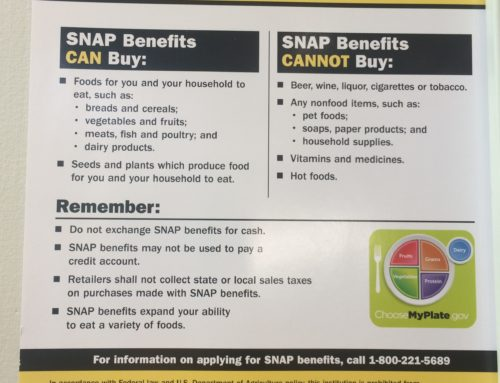 Now Accepting SNAP/ EBT!