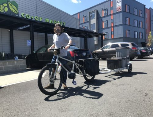 Now Offering Grocery Delivery by Bike!
